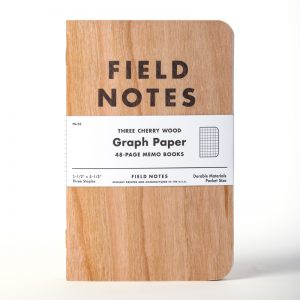 FIELD NOTES - THREE CHERRY WOOD 3 PACK
