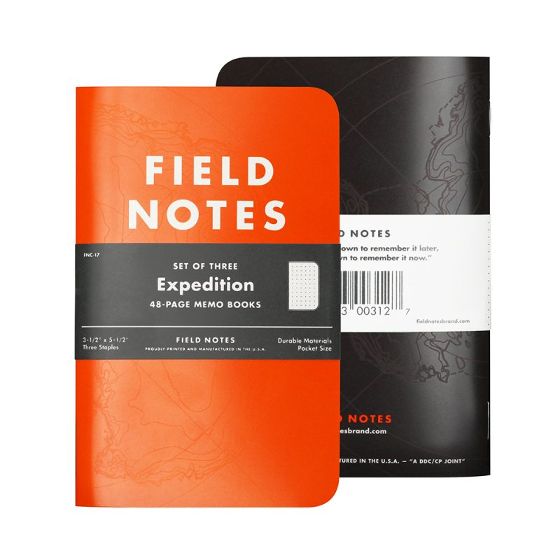 FIELD NOTES - EXPEDITION EDITION 3 PACK